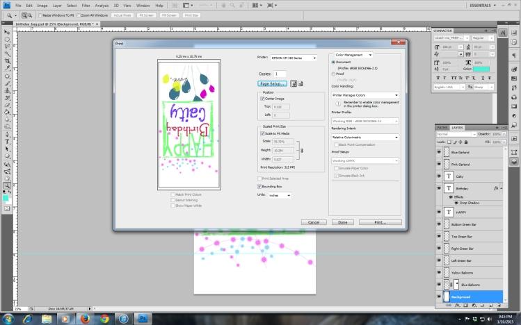 Final print box.  Image 12.